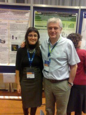 Prof. Antoni Torres and PhD researcher Laia Fernández Barat