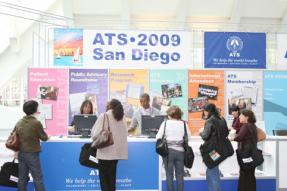 More than 13,500 people took part in the 2009 ATS conference.