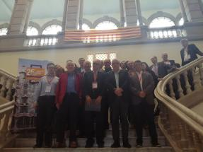 Picture of speakers and organizers